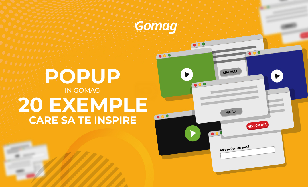 Pop-up in magazinul tau online: Ghid cu 20 de exemple care sa te inspire