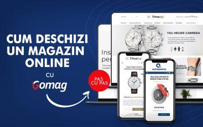 Cum sa deschizi un magazin online cu Gomag – Ghid pas cu pas pentru creare magazin