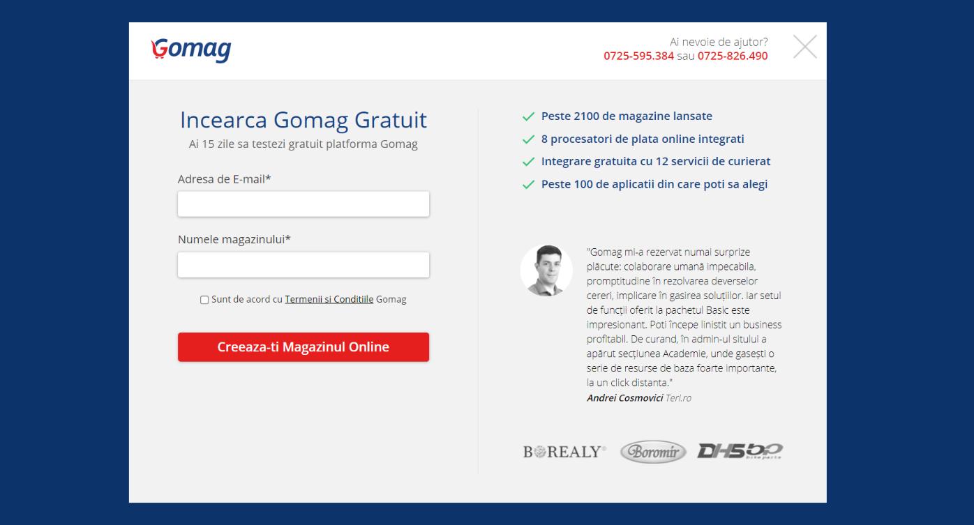 testeaza-platforma-gomag