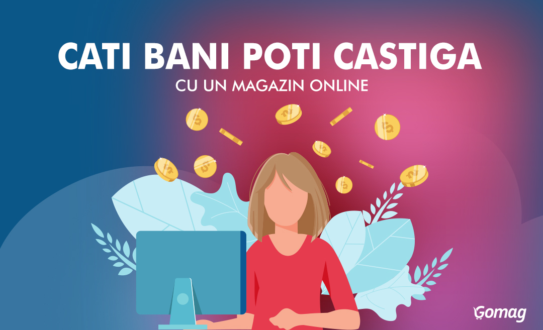 Cati bani poti sa castigi cu un magazin online [Video]