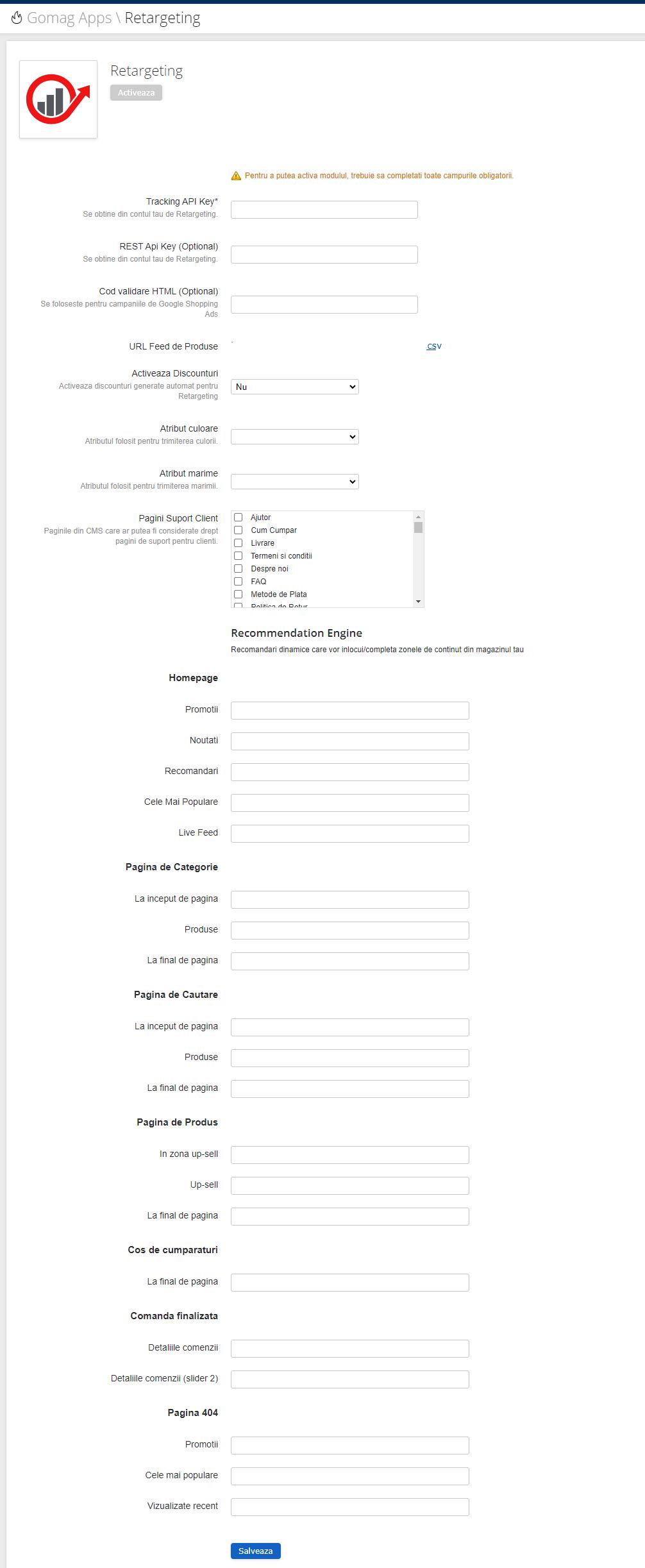 actualizare-aplicatia-retargeting