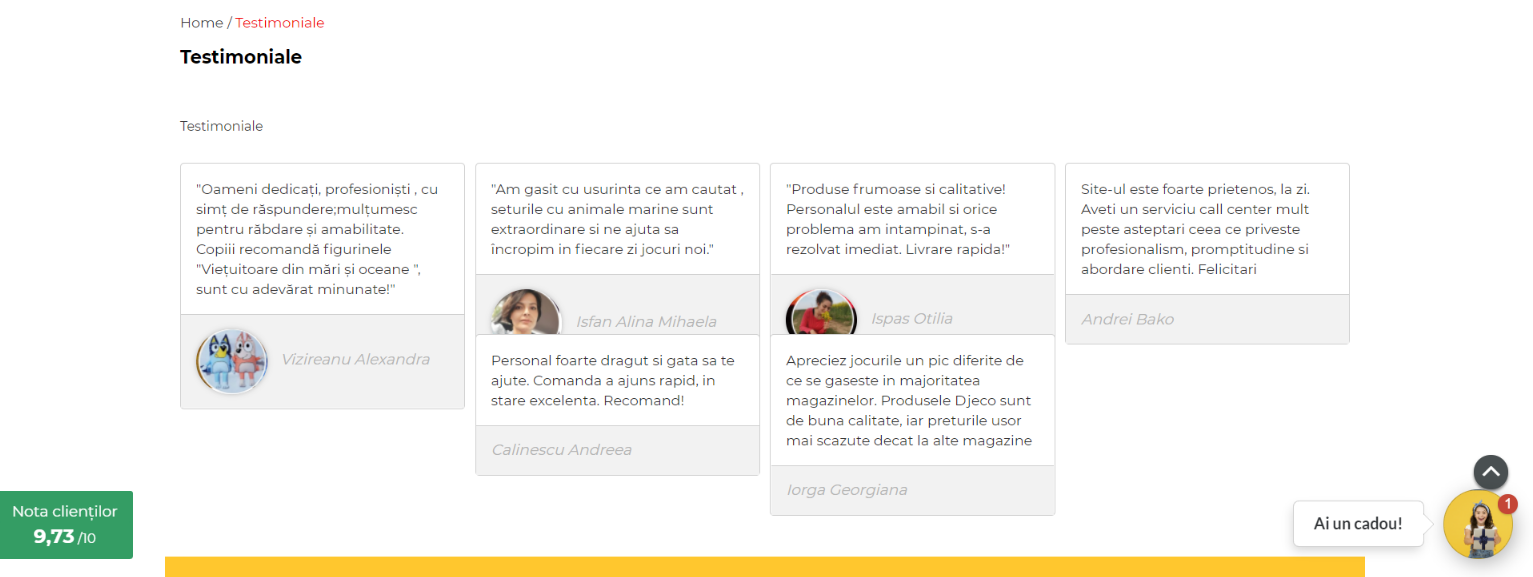 business-testimoniale-clienti-magazin-online-vanzare